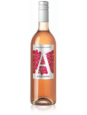 Adriana Zinfandel Rose Wine 75cl