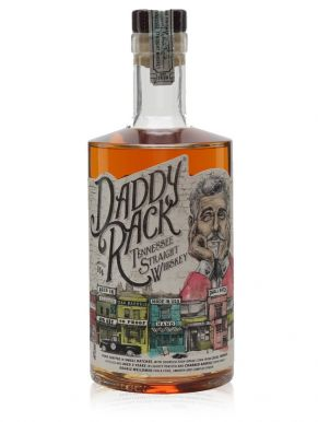 Daddy Rack Tennessee Straight Small Batch Whiskey 70cl