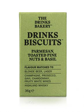 Drinks Biscuits - Parmesan Toasted Pine Nuts & Basil 36g