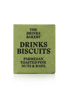 Drinks Biscuits - Parmesan Toasted Pine Nuts & Basil 20g