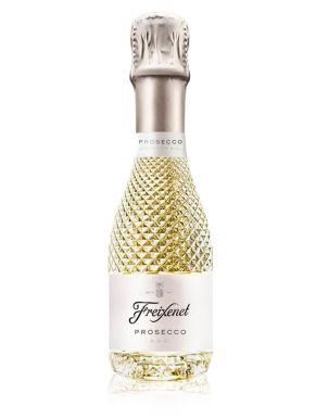 Freixenet Prosecco Brut Cut Glass Bottle Italian Sparkling Wine 20cl