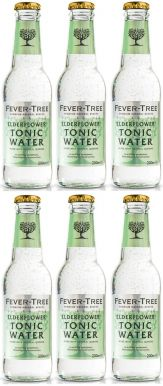 Fever-Tree Elderflower Tonic Water 20cl x 6 bottles