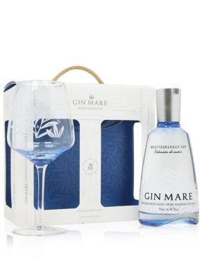 Gin Mare Mediterranean Gin Balloon Glass Gift Set 70cl