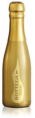 Bottega Gold Prosecco - Brut Vino Dei Poeti Gold Mini Bottle 20cl