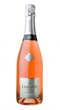 Langlois Chateau Cremant de Loire Rose Sparkling Wine 75cl
