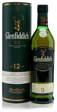 Glenfiddich 12 year old Whisky 70cl