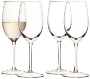 LSA Wine Collection White Wine Glasses - 260ml (set of 4)