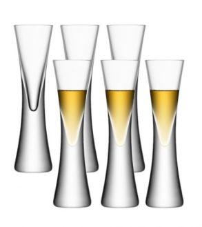 LSA Moya Liqueur / Vodka Glasses - Clear 50ml (Set of 6)