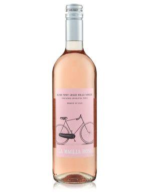 La Maglia Rosa Pinot Grigio Blush Rose Wine 75cl