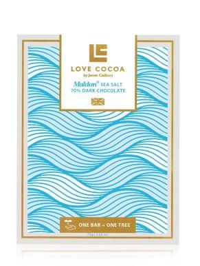 Love Cocoa - Maldon Sea Salt Dark Chocolate 75g