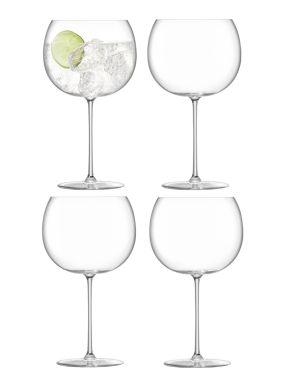 LSA Borough Balloon Glasses - Clear 680ml x 4