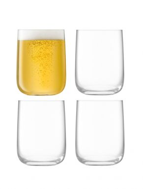 LSA Borough Bar Glasses - Clear 625ml x 4