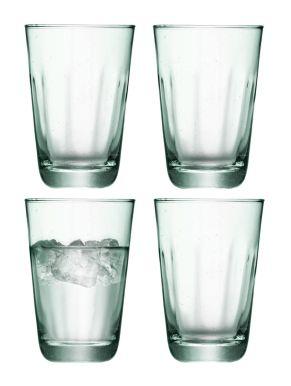 LSA Mia Recycled Glass Highballs 350ml (Set of 4)
