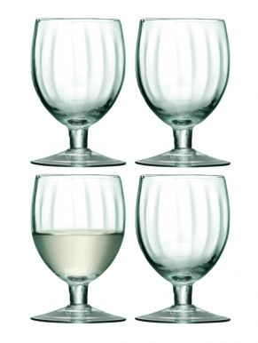 LSA Mia Recycled Wine Glasses 350ml (Set of 4)