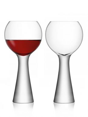 LSA Moya Balloon Glasses - Clear 550ml (Set of 2)