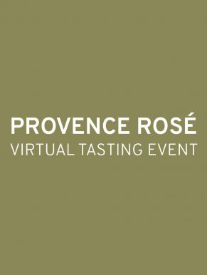 Provence Rosé Virtual Tasting Event Ticket - August 18th
