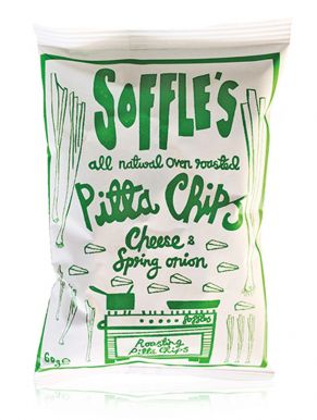 Soffle's Pitta Chips Cheese & Spring Onion 60g