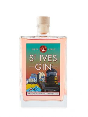 St Ives Super Berry Pink Gin 35cl