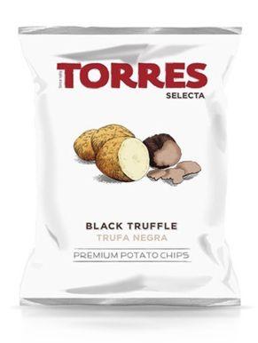 Torres Black Truffle Flavoured Crisps 40g